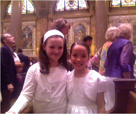 Luciagirlcommunion